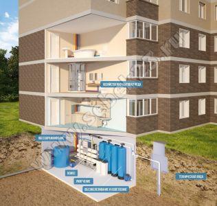 Очистка воды в многоэтажном здании