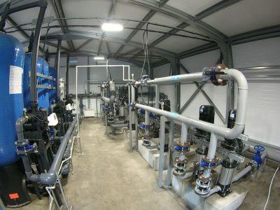 блочно-модульные станции водоподготовки, предназначенные для очистки технической и питьевой воды