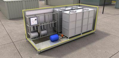 Автономная мобильная станция водоподготовки