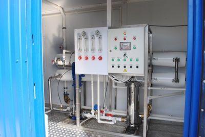 блочно-модульная установка очистки воды