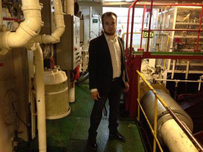очистка воды на корабле